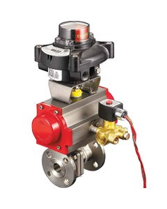 A-T Controls FM Approved Ball Valves for Safety Shutoff Applications