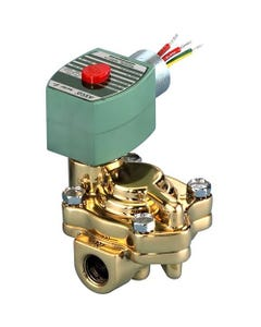 ASCO Valve 8221 Two-Way Slow Closing Pilot-Operated Solenoid Valve - Construction Reference 1-2, Hot Water Construction Reference 43