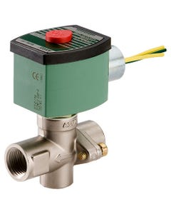 ASCO Valve 8267 Two-Way Brass Steam Service Solenoid Valves