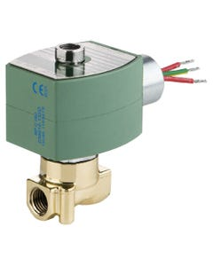 ASCO Valve 8314 Three-Way General Service Solenoid Valves - Brass construction