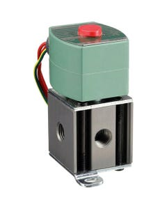 ASCO Valve 8340 Four-Way Air-Only Inline Solenoid Valve