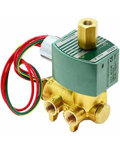 ASCO Valve 8345 Four-Way General Service Solenoid Valves, Brass Construction