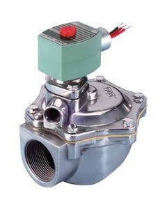 ASCO Valve 8353 Two-Way Dust Collector Main Pulse Solenoid Valve, Integral Pilot, Construction Reference 5