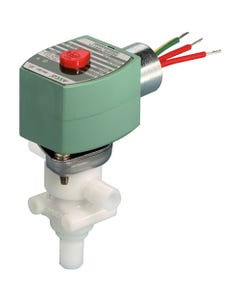 ASCO Valve 8360 Three-Way Plastic Body Solenoid Valves