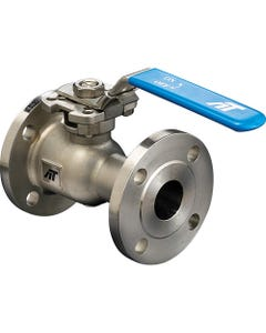 A-T Controls Series F91 Flanged Regular Port Fire Safe Ball Valves with Lever Handle