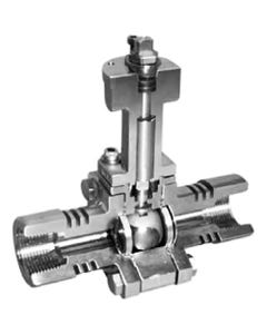 Marwin MS3000 Fire Safe High Performance Ball Valve Cutaway Image