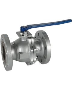 Marwin Valve 5801 Fire Safe Flanged Ball Valve - Reduced Port